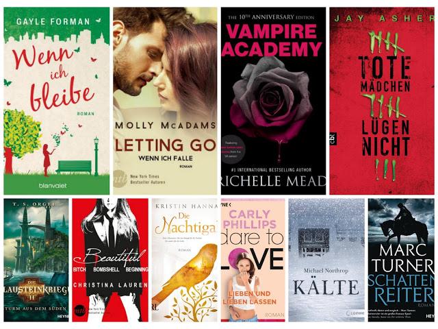 [TTT] #60 - 10 Bücher, die du gerne in der Weihnachtszeit lesen möchtest
