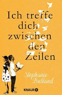 [Rezension] Ich treffe dich zwischen den Zeilen von Stephanie Butland