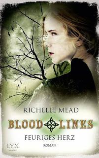 [Rezension] Feuriges Herz (Bloodlines #4) von Richelle Mead